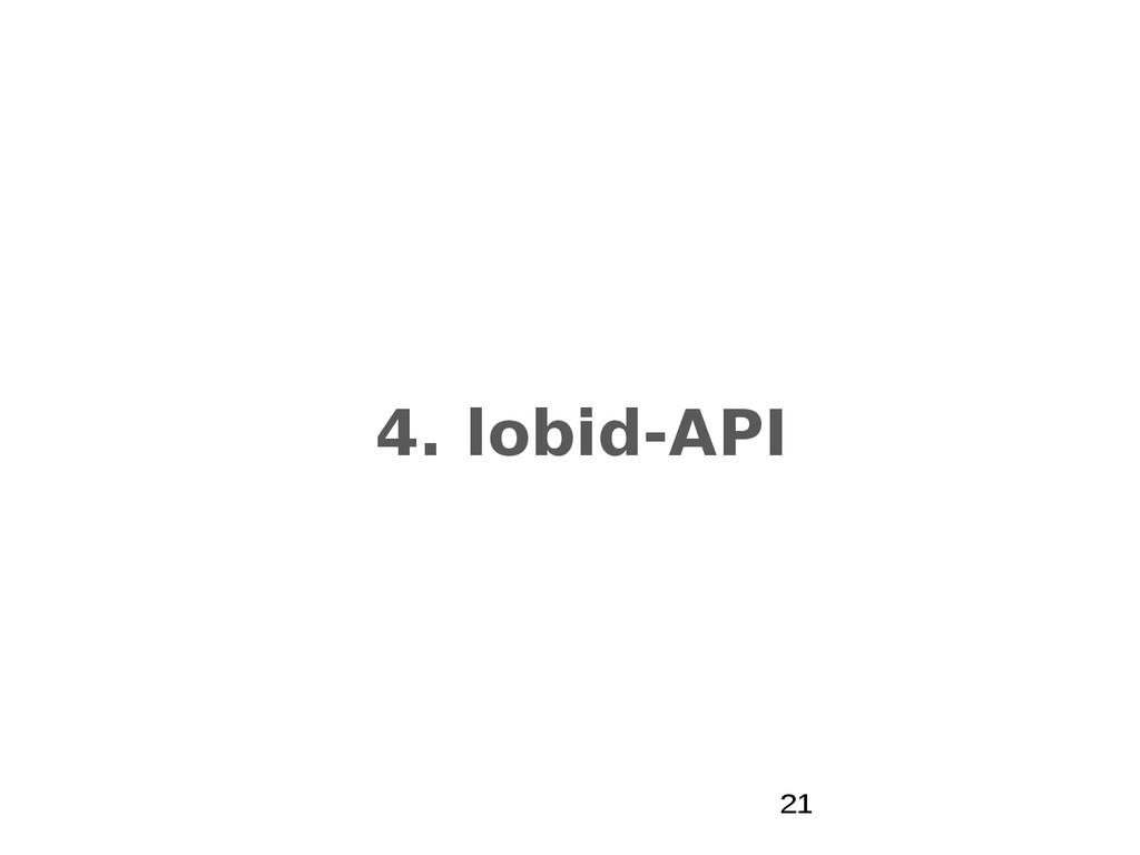 4. lobid-API 21