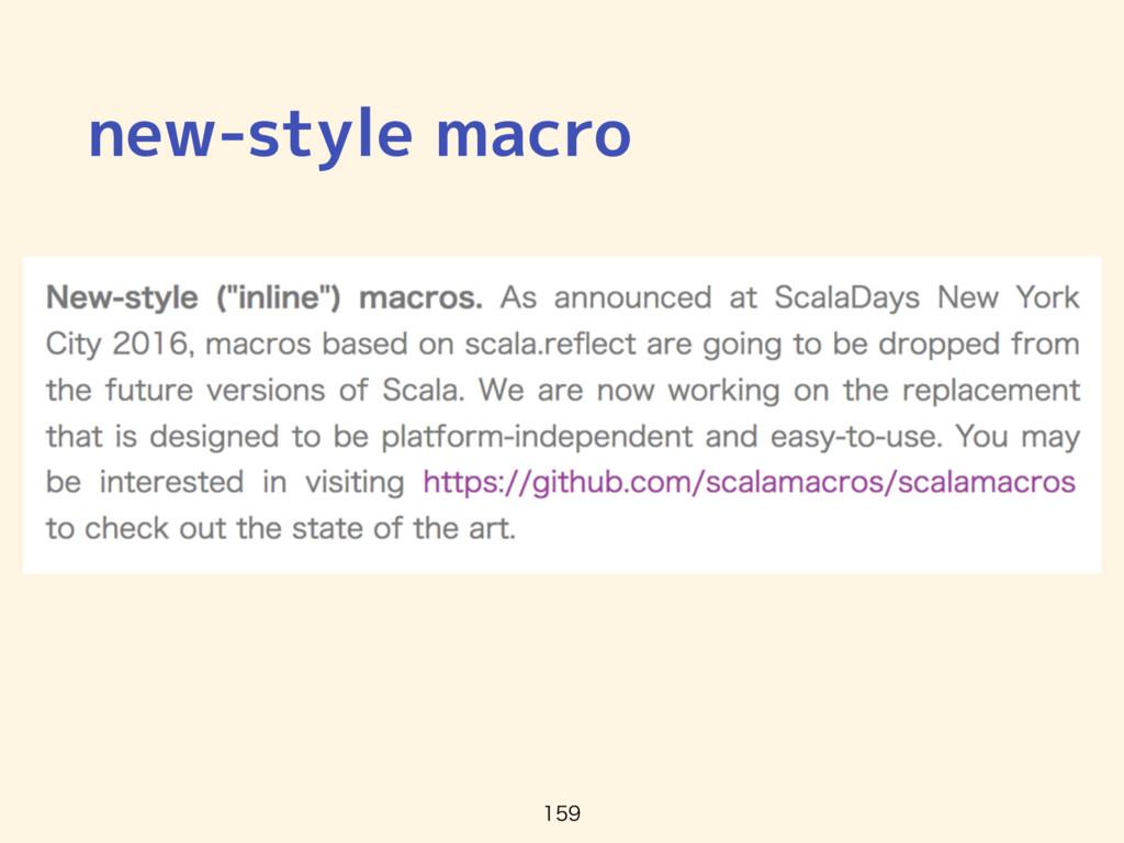 new-style macro