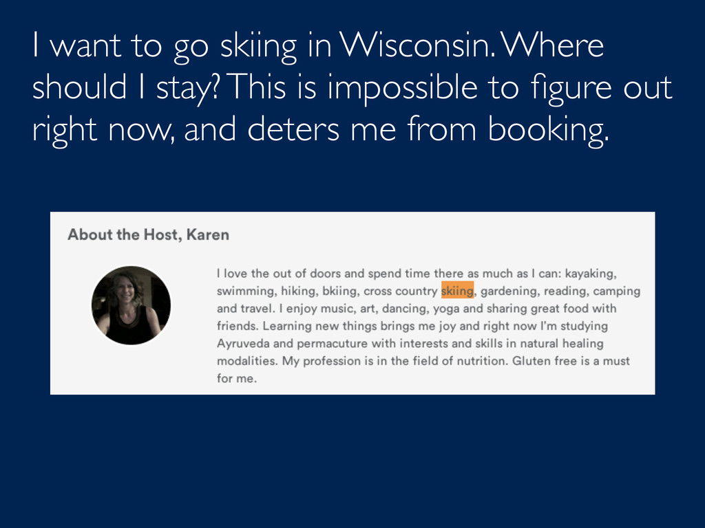 I want to go skiing in Wisconsin. Where should ...