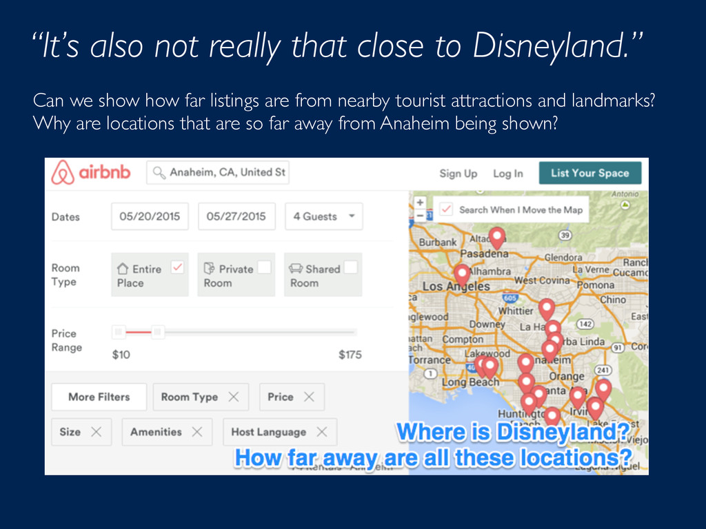 """""""It's also not really that close to Disneyland...."""