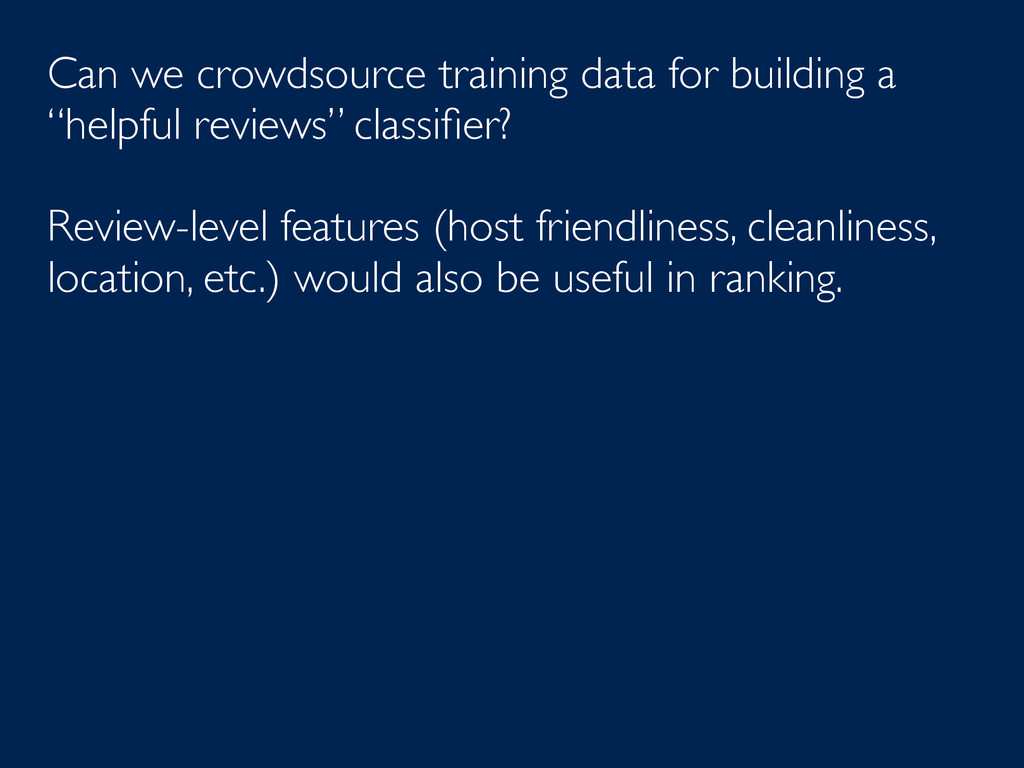 Can we crowdsource training data for building a...