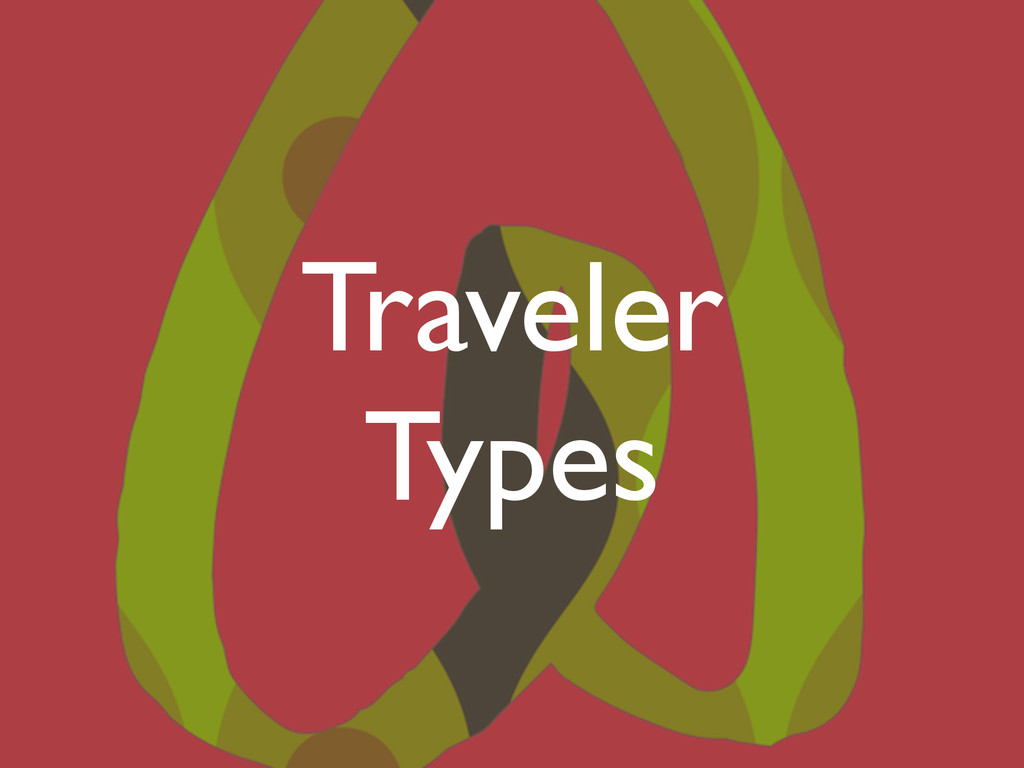 Traveler Types