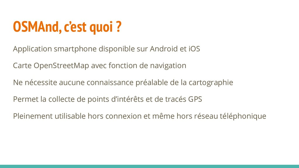 OSMAnd, c'est quoi ? Application smartphone dis...