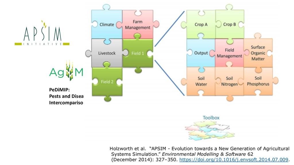 PeDiMIP: Pests and Diseases Model Intercomparis...