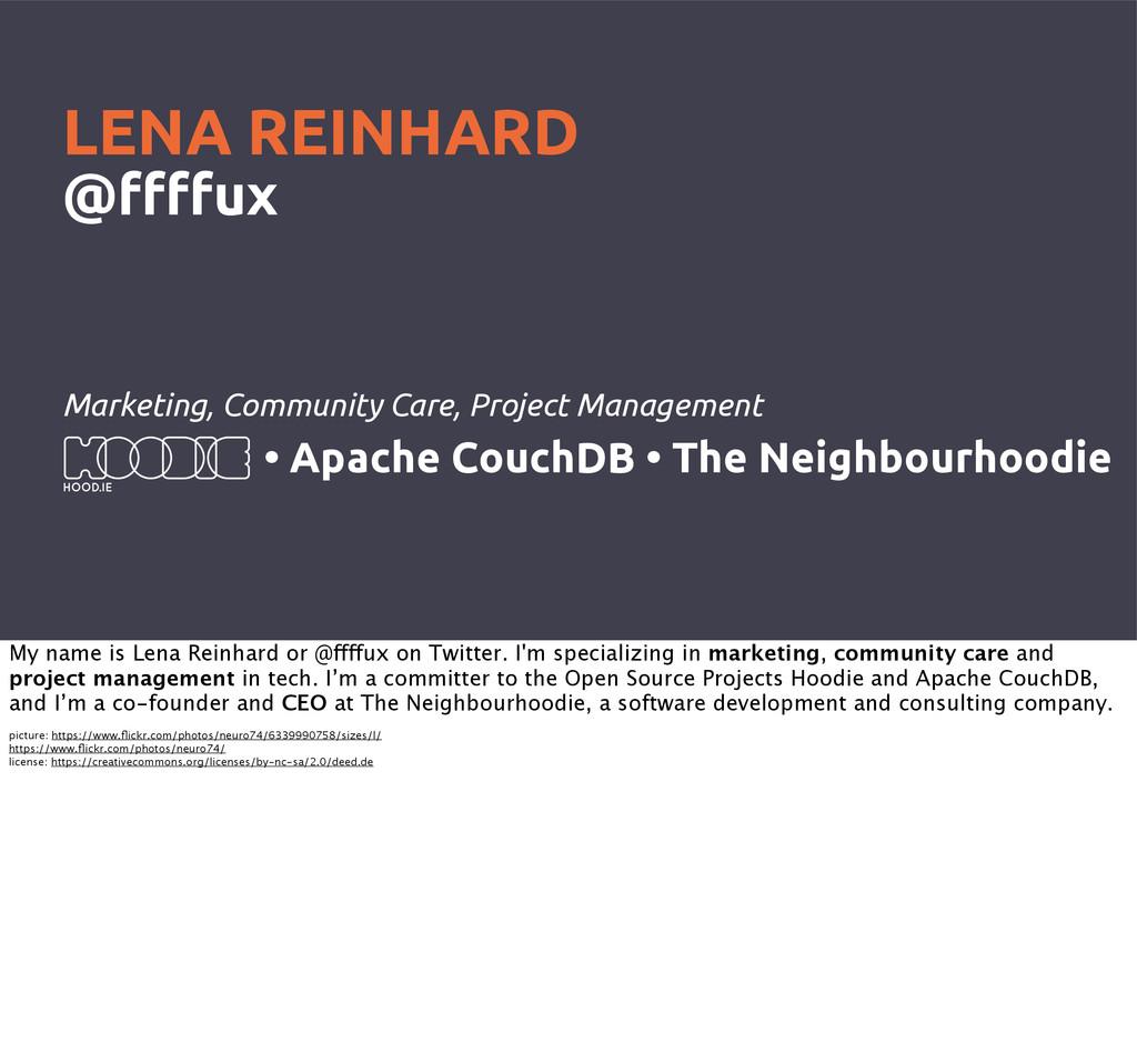 Marketing, Community Care, Project Management L...