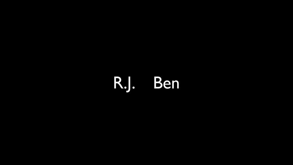 R.J. Ben