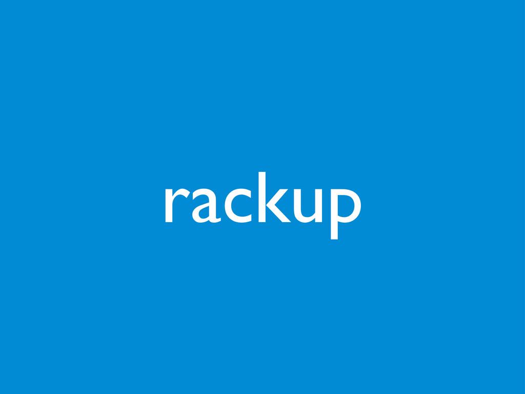 rackup