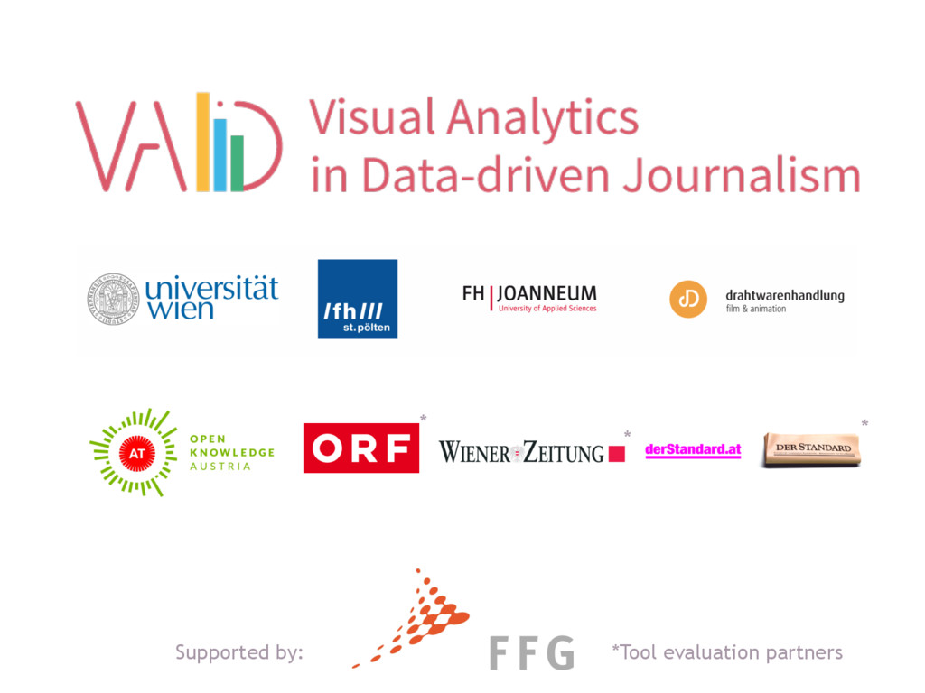 MEDIA & DESIGN *Tool evaluation partners * * * ...