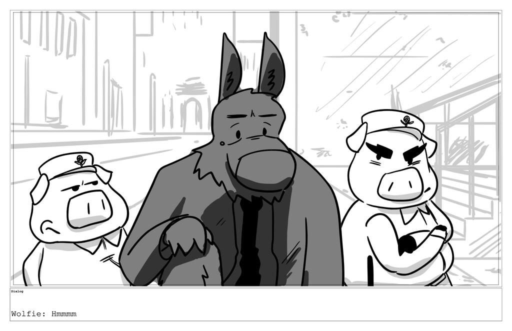 Dialog Wolfie: Hmmmm
