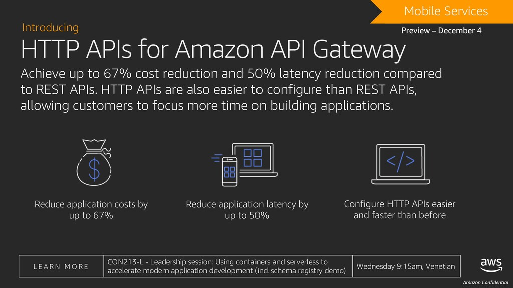 Amazon Confidential Achieve up to 67% cost redu...