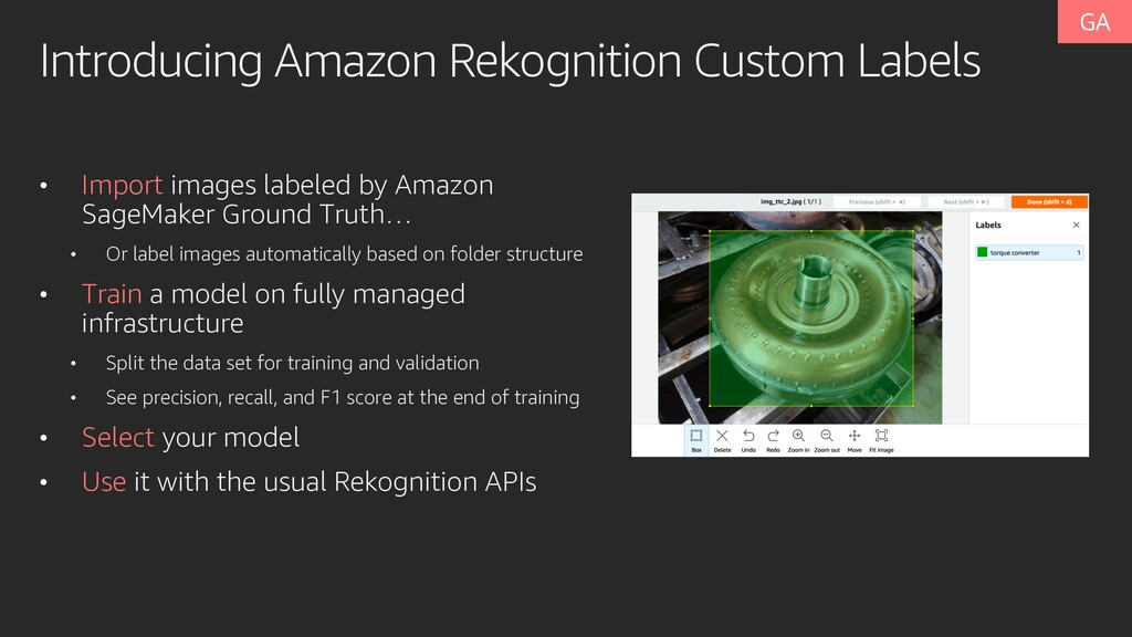 Introducing Amazon Rekognition Custom Labels • ...