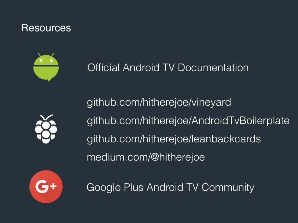 Resources Official Android TV Documentation gith...