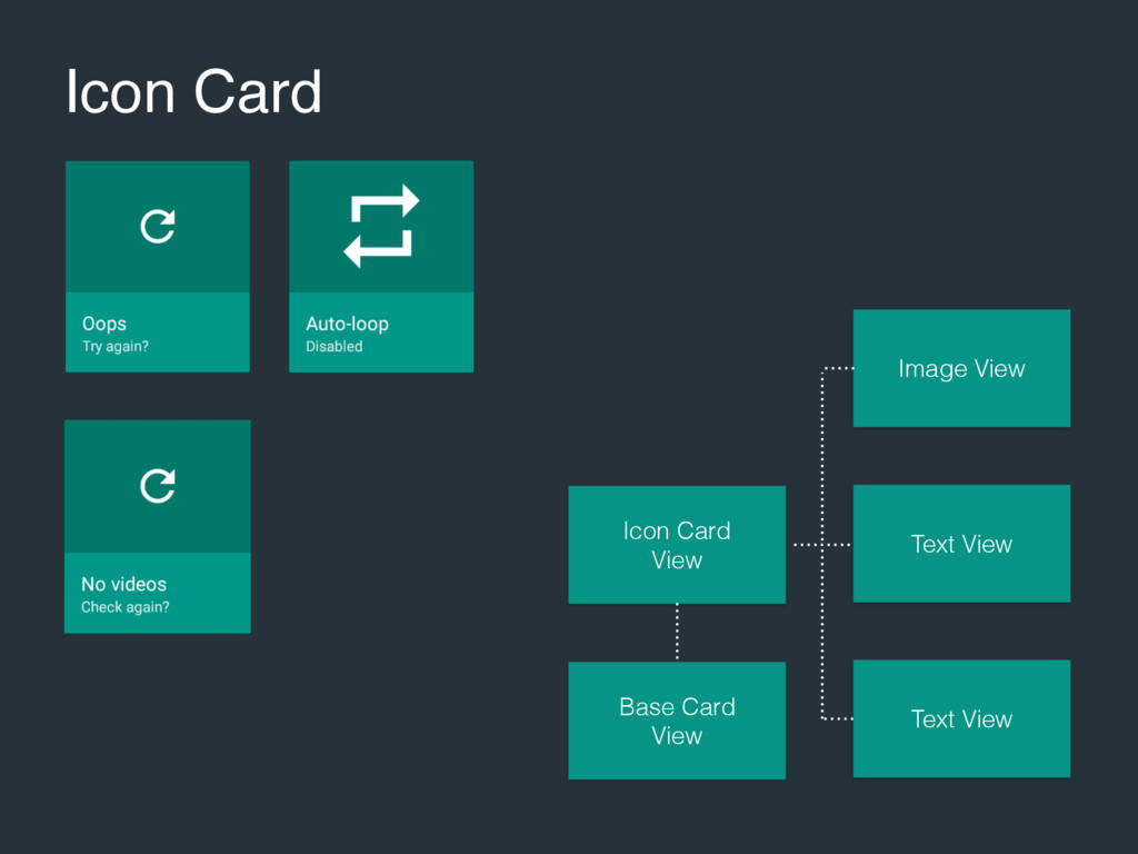 Icon Card Icon Card View Base Card View Text Vi...