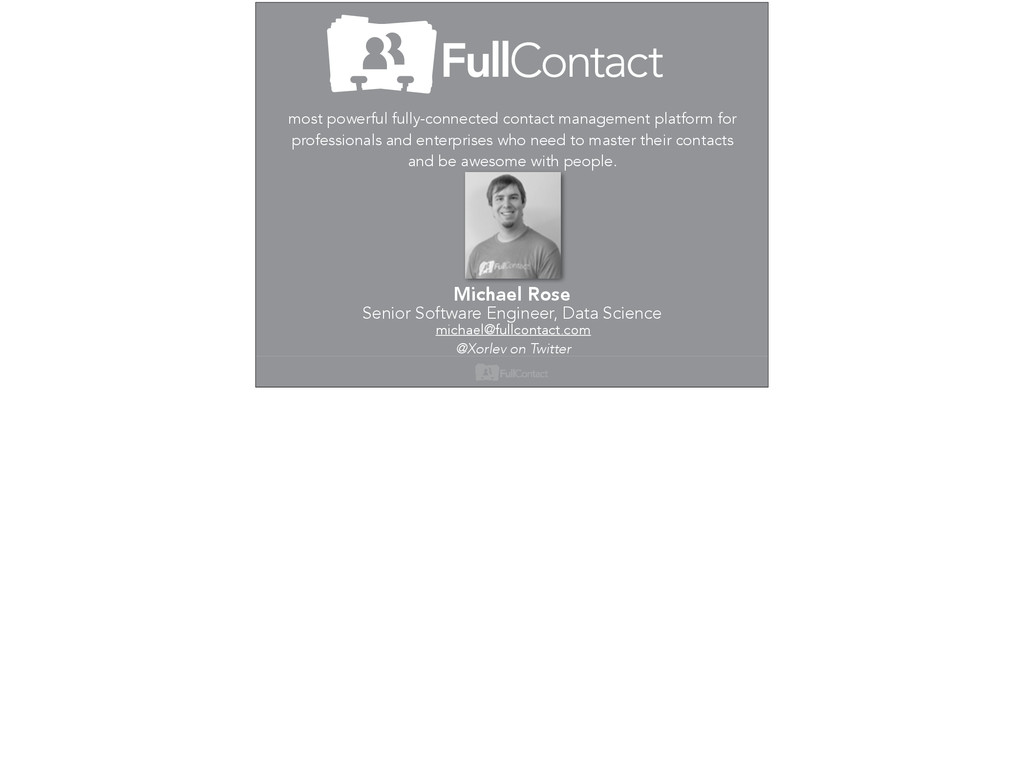 most powerful fully-connected contact managemen...