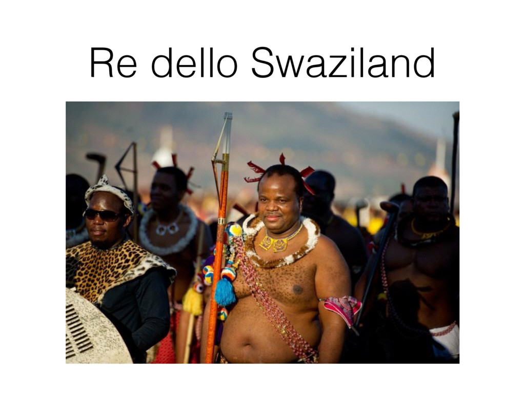 Re dello Swaziland