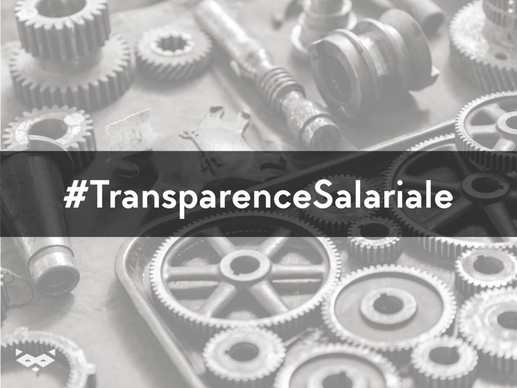 #TransparenceSalariale