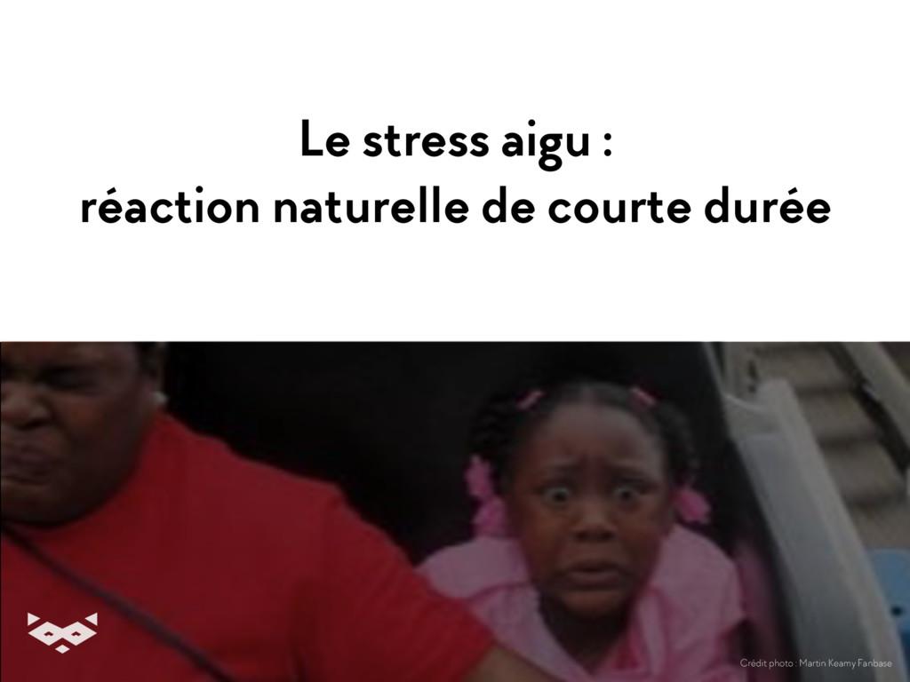 Le stress aigu : réaction naturelle de courte d...