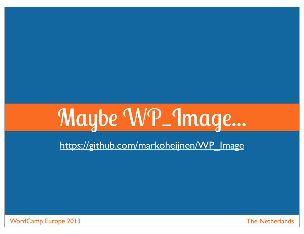 WordCamp Europe 2013 The Netherlands M b WP_I ....