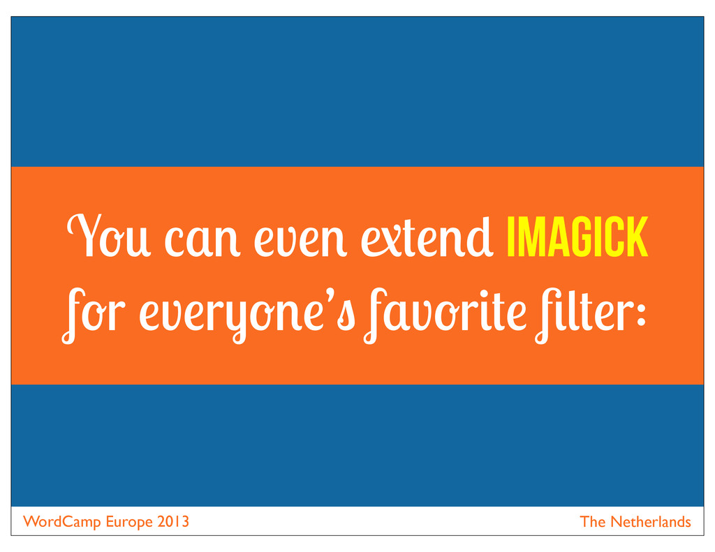 WordCamp Europe 2013 The Netherlands Y v Imagic...