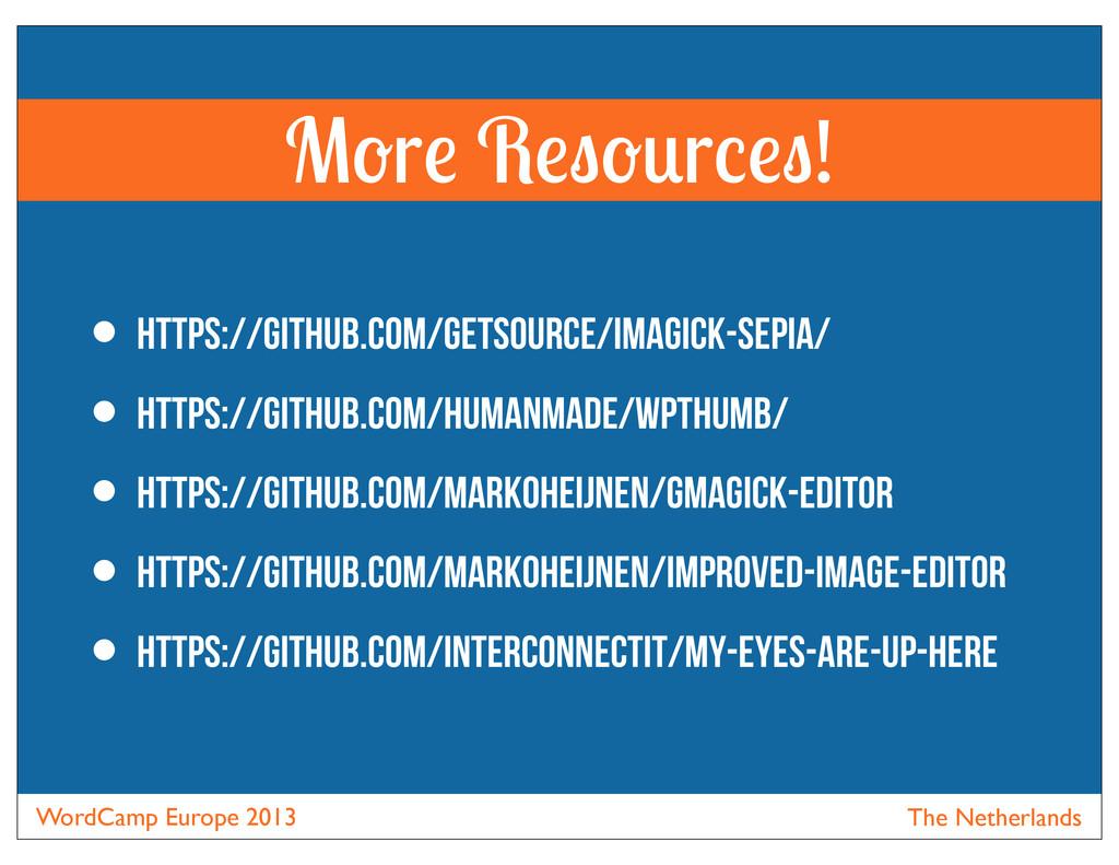 WordCamp Europe 2013 The Netherlands • https://...