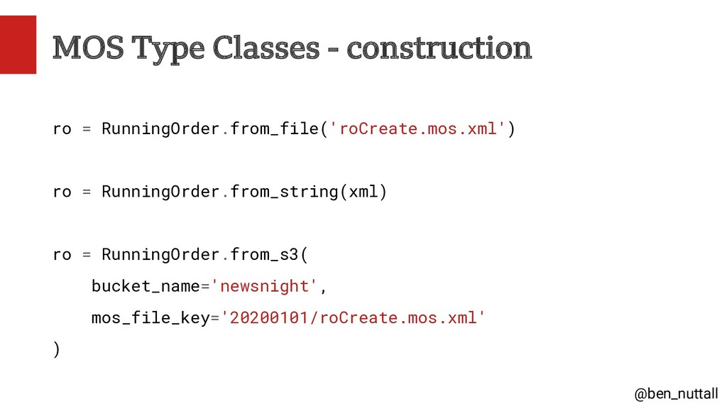 @ben_nuttall MOS Type Classes - construction ro...
