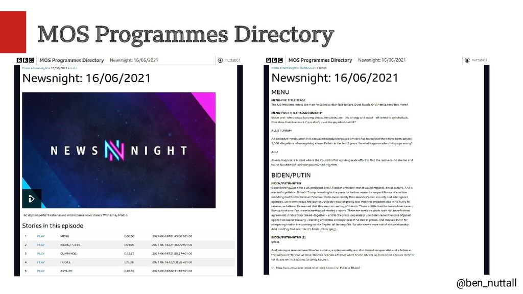 @ben_nuttall MOS Programmes Directory