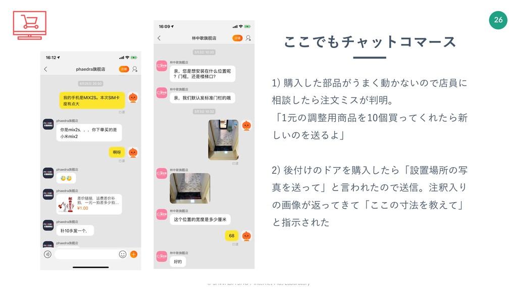 © SAWADA SHO / Internet Plus Laboratory 26 1) 購...