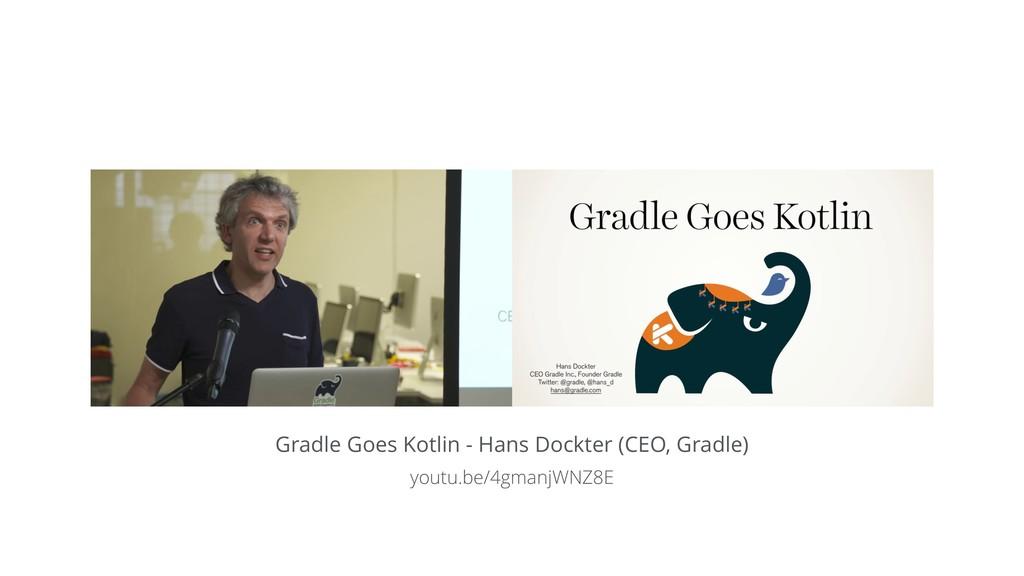 Gradle Goes Kotlin - Hans Dockter (CEO, Gradle)...