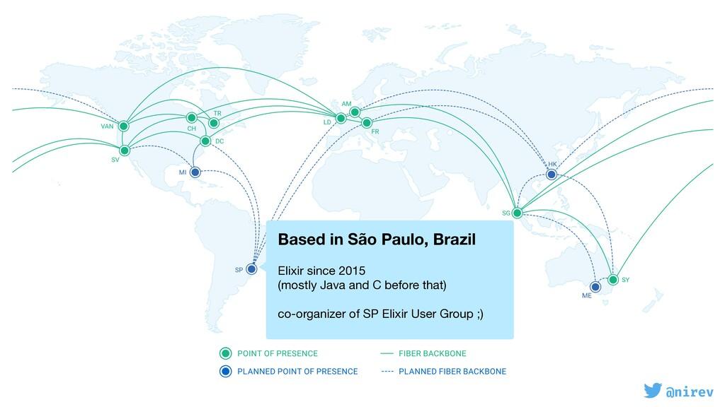 @nirev Based in São Paulo, Brazil  Elixir sin...