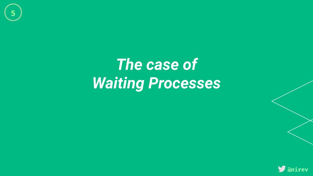@nirev The case of Waiting Processes 5
