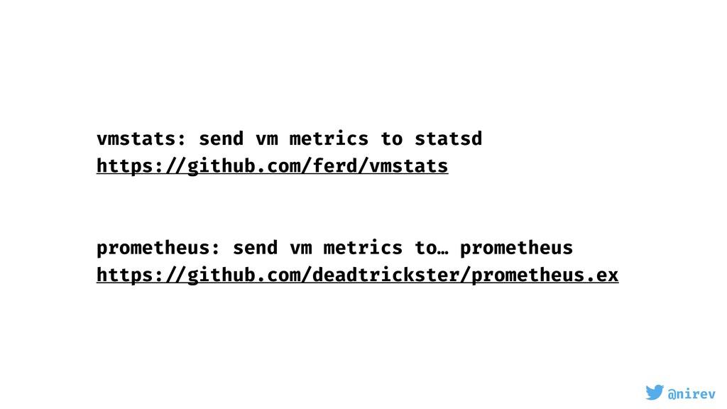 @nirev vmstats: send vm metrics to statsd https...