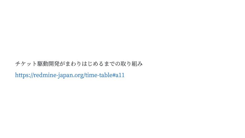 チケット駆動開発がまわりはじめるまでの取り組み https://redmine-japan.o...