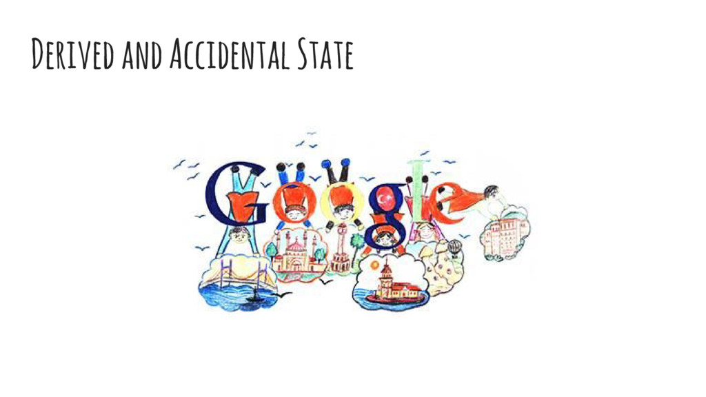 Derived and Accidental State