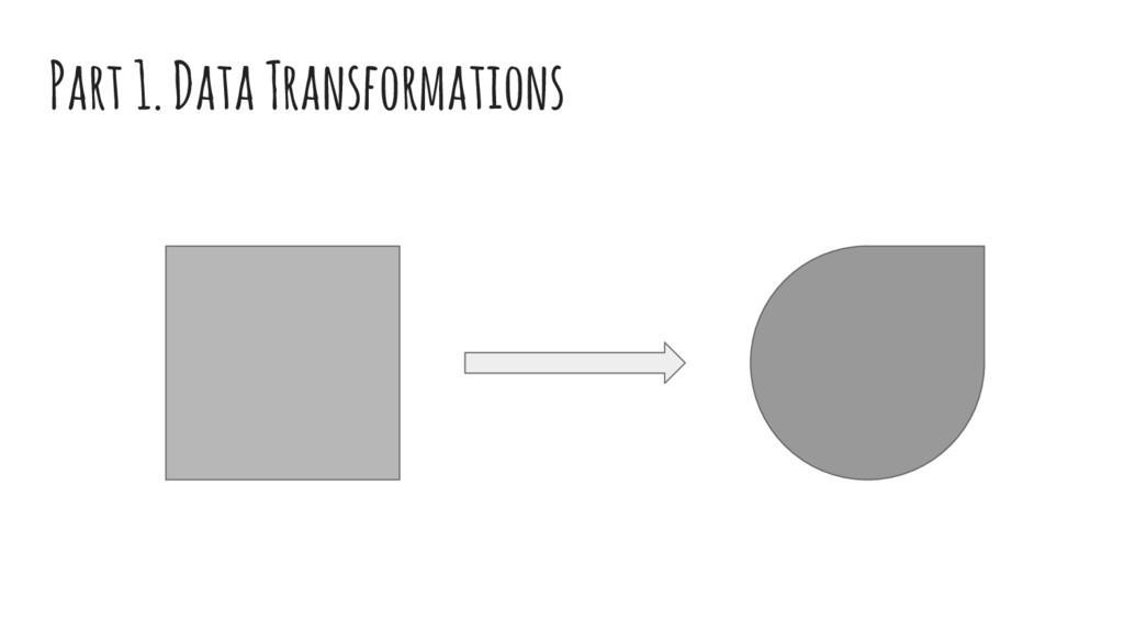 Part 1. Data Transformations