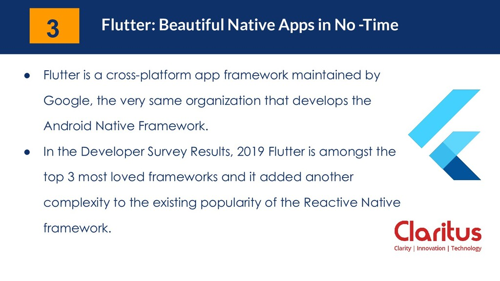Flutter: Beautiful Native Apps in No -Time ● Fl...