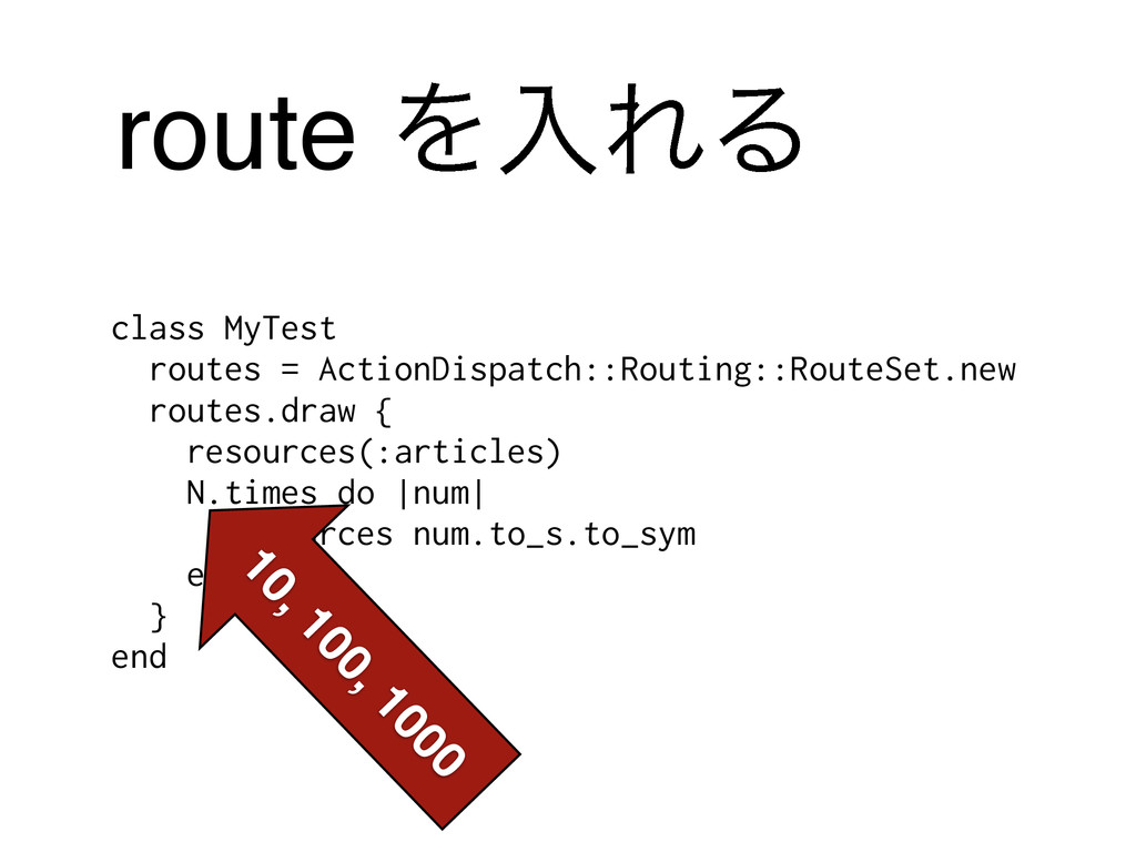 route ΛೖΕΔ class MyTest routes = ActionDispatch...