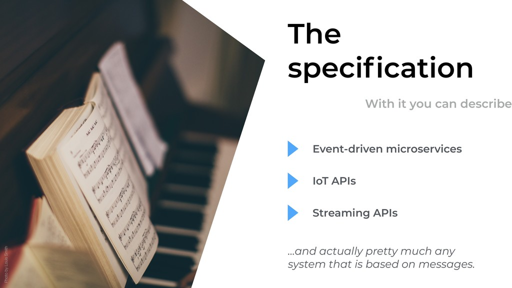 The specification With it you can describe Event...