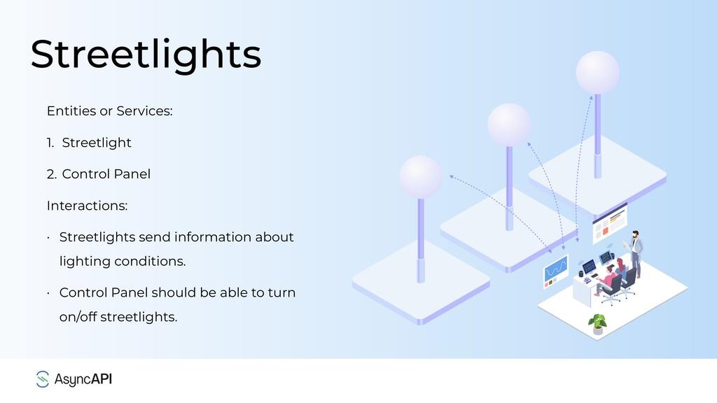 Streetlights Entities or Services: 1. Streetlig...