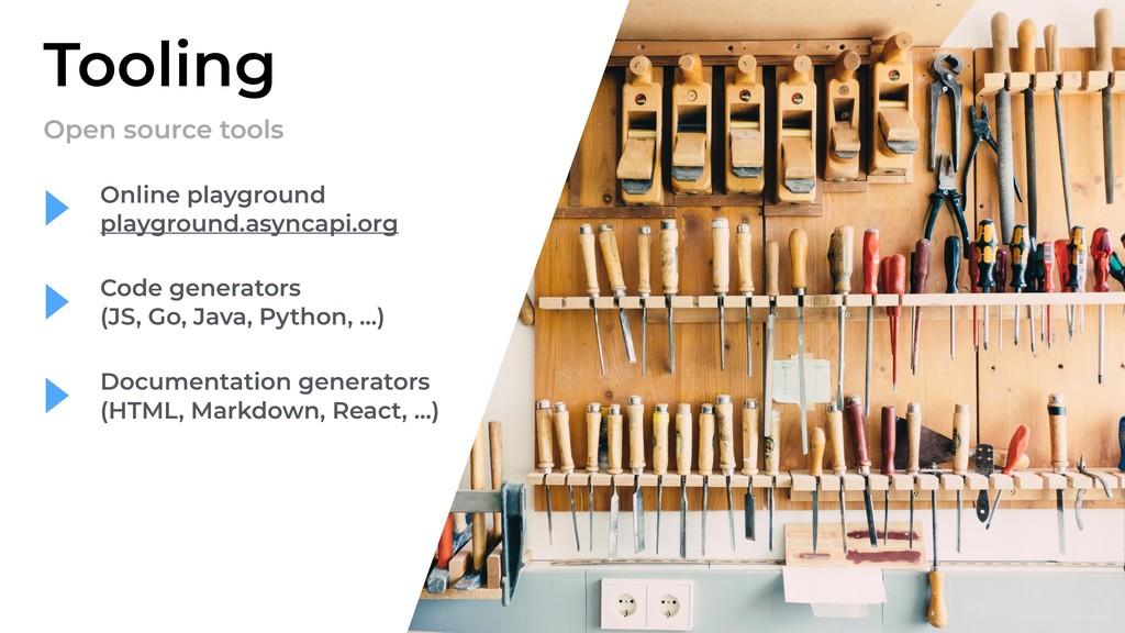 Tooling Open source tools Documentation generat...