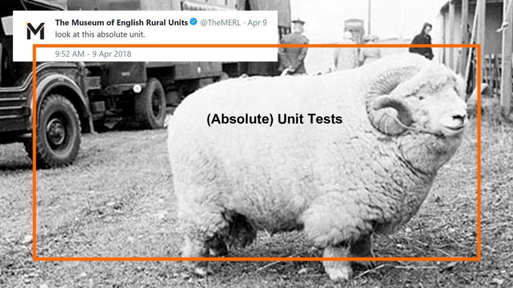 29 (Absolute) Unit Tests