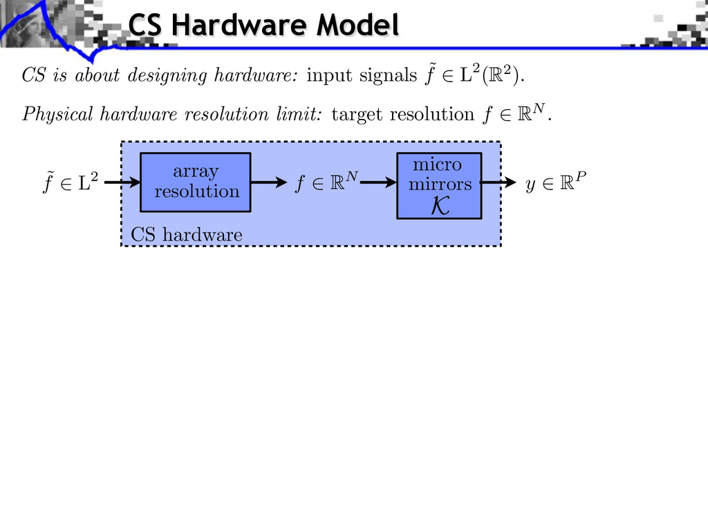 Physical hardware resolution limit: target reso...
