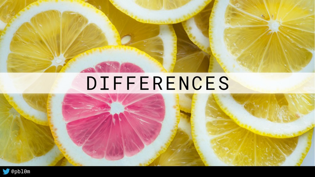 15 @pbl0m DIFFERENCES