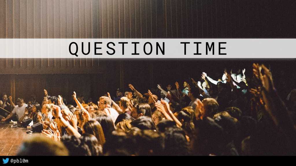 46 @pbl0m QUESTION TIME