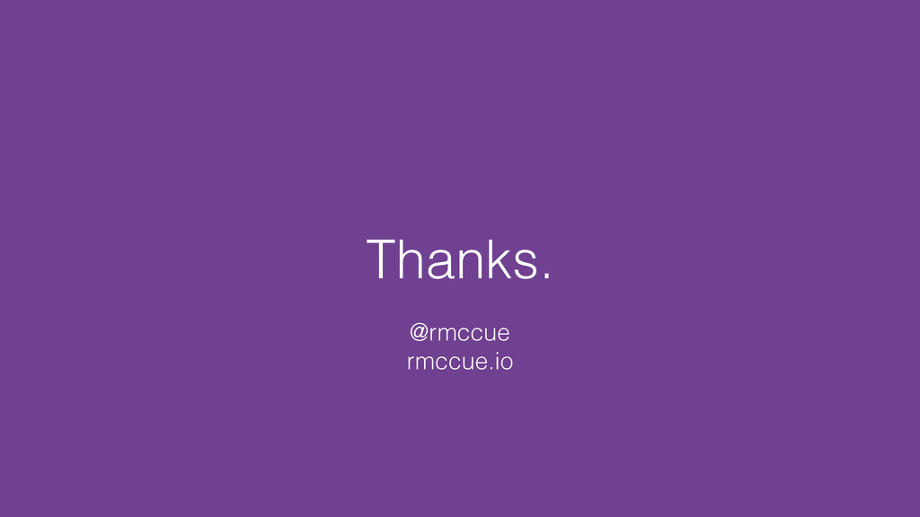 Thanks. @rmccue rmccue.io