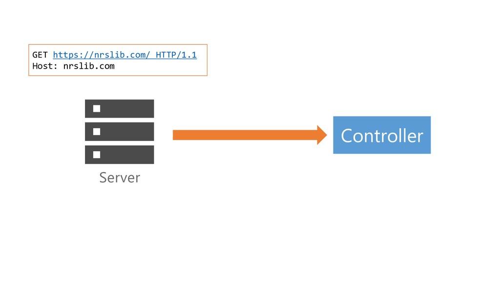 Server GET https://nrslib.com/ HTTP/1.1 Host: n...