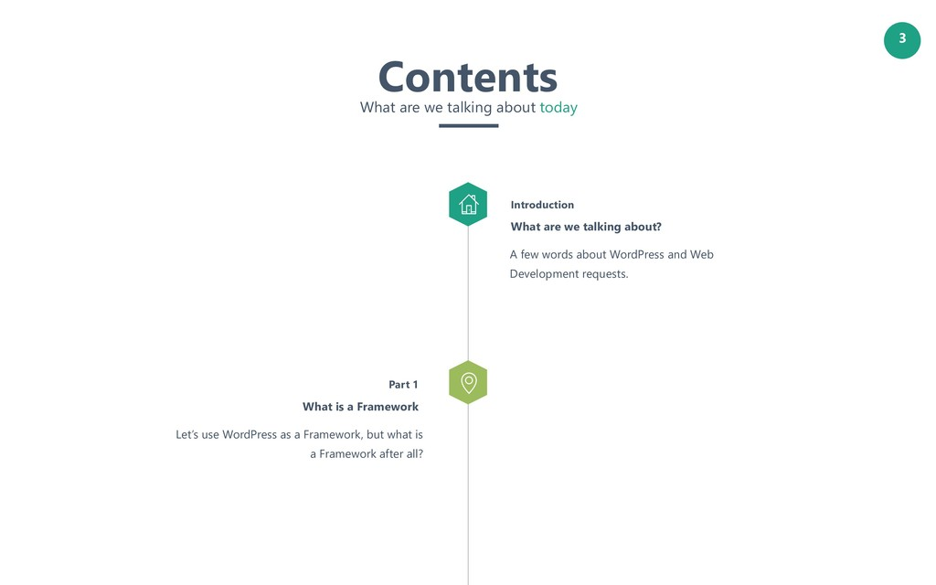 3 Let's use WordPress as a Framework, but what ...