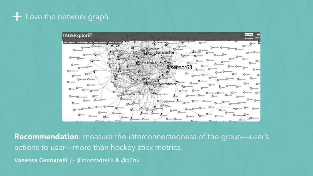 +Love the network graph Vanessa Gennarelli // @...