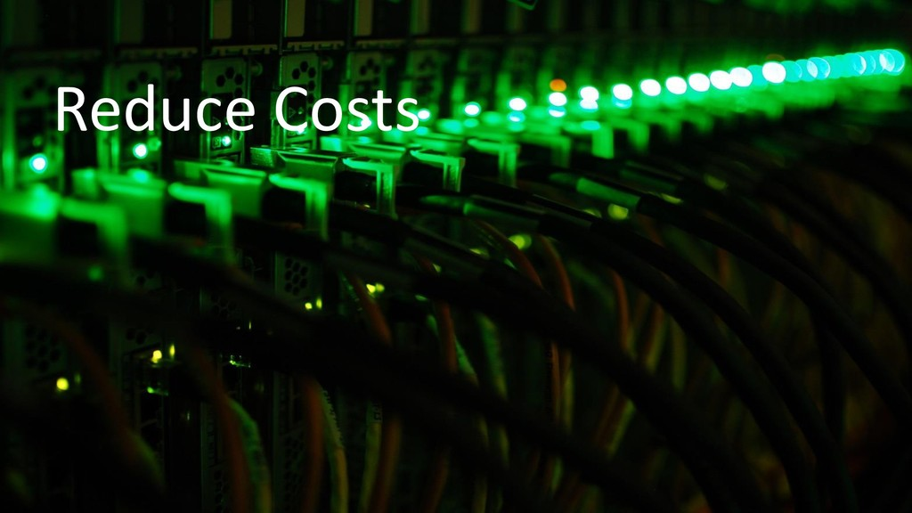 #SymfonyLive @nicolasgrekas Reduce Costs