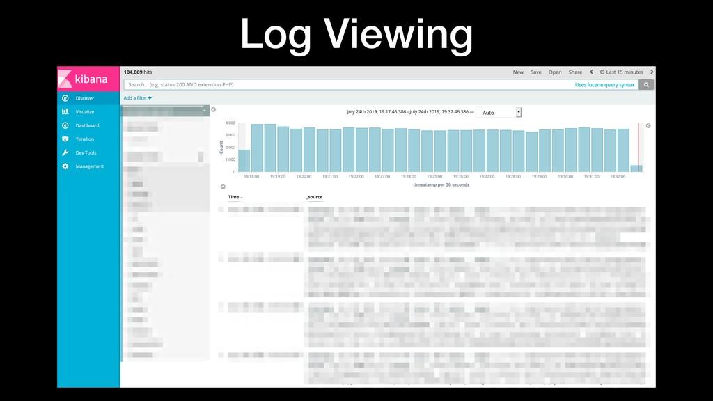 Log Viewing