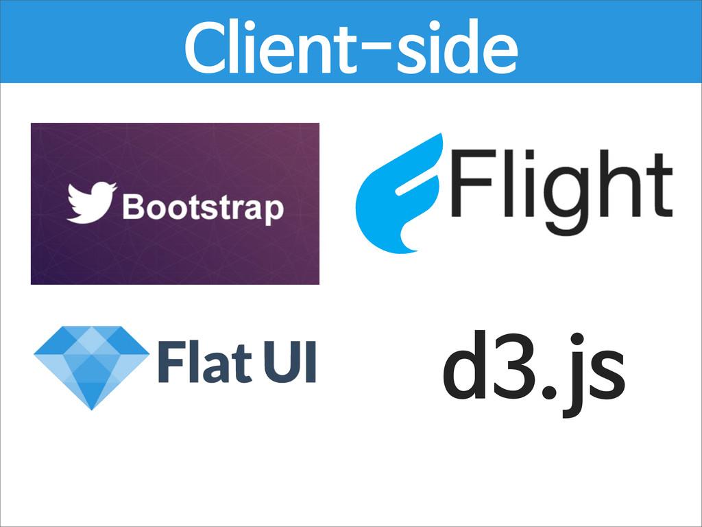 d3.js Client-side